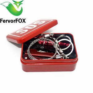 Outdoor equipment emergency bag field survival box self-help box SOS equipment for Camping Hiking Multi Tools - thegsnd