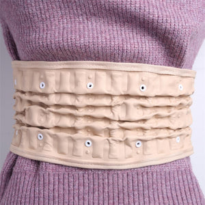 Physical Lumbar Decompression Back Belt Back Support & Lumbar Traction Belt Spinal Air Traction Belt for Lower Back Pain Relief - thegsnd