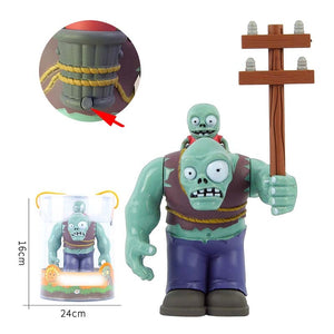 Plants vs. Zombies PVZ BIG Zombie The Building Blocks Figures Diy Model Education Toys  For Children Gift - thegsnd