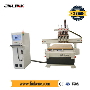 Popular CNC Wood Processing Machine Wood CNC Router 1325 3d 4 Axis Cnc Milling Machine - thegsnd