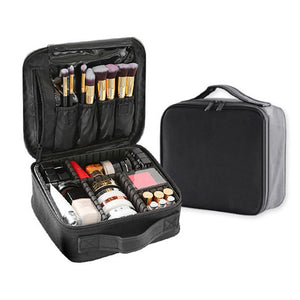 Professional Women Cosmetic Case Brushes Makeup Bag Waterproof Travel Pouch Makeup Tool - thegsnd