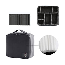 Load image into Gallery viewer, Professional Women Cosmetic Case Brushes Makeup Bag Waterproof Travel Pouch Makeup Tool - thegsnd