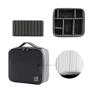 Professional Women Cosmetic Case Brushes Makeup Bag Waterproof Travel Pouch convenience - thegsnd