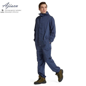 Recommend Electromagnetic radiation protective overalls GSM base station High voltage power station EMF shielding work clothes - thegsnd