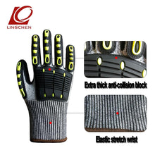 Load image into Gallery viewer, Riding Impact Gloves Outdoor Sports Bike Motorbike Cycling Glove Full Finger Mittens Collision Avoidance Level 5 Cut-proof - thegsnd