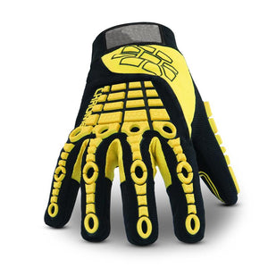 Rigger Gloves Clutch Gear Cut Resistant Cut Proof Anti Impact Resistance Mechanics Work Gloves - thegsnd