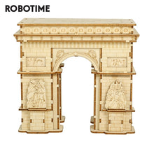 Load image into Gallery viewer, Robotime 118pcs DIY 3D Arc de Triomphe Wooden Puzzle Game Popular Toy Gift for Children Teen Adult TG502-Wooden Toy-thegsnd-China-thegsnd