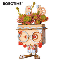 Load image into Gallery viewer, Robotime Children Adult Cute Bunny Flower Pot 3D Wooden Puzzle Game Educational Models & Building Kits Toy FT741-Wooden Toy-thegsnd-Pot Bunny-China-thegsnd