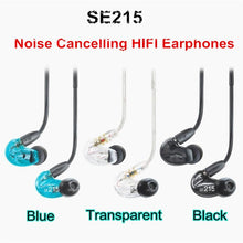 Load image into Gallery viewer, SE215 Hi-Fi Stereo Noise Canceling Headphones3.5MM SE 215 In ear Earphones With Separated Cable headsets with Box VS SE535 - thegsnd