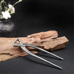 SEAAN 210mm Stainless Steel Garden Branch Cutter Long Handle Scissor Bonsai Tool Plant Support & Care Plant Cages Supports - thegsnd