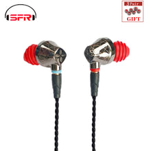 Load image into Gallery viewer, SENFER DT6 1BA+1DD Hybrid In Ear Earphone HIFI DJ Running Sports Earplug Earbuds With Mic Detachable MMCX Cable X6 PT25 DT8 T2 - thegsnd