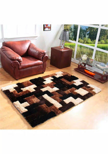 Panipat Direct Shaggy Carpet Multi (3Ft*5Ft) - thegsnd