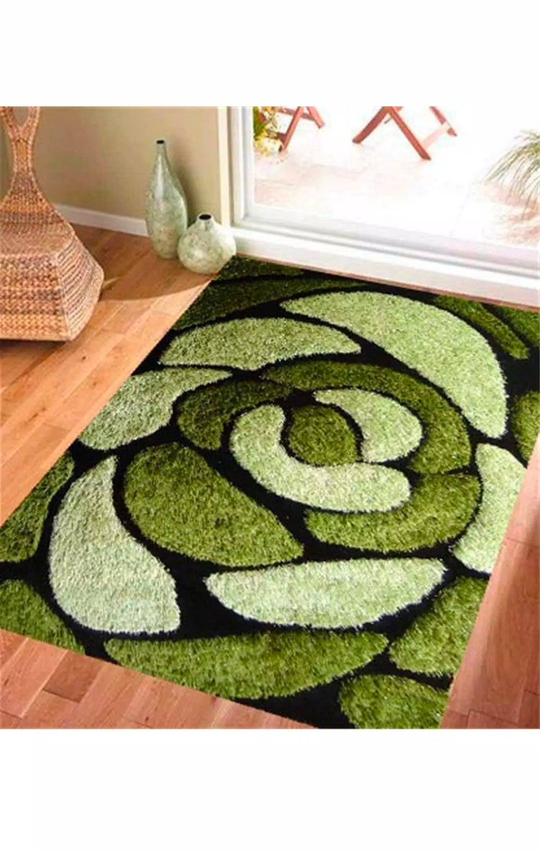 Panipat Direct Shaggy Carpet Multi (3Ft*5Ft)-Home Soft Fabric Product.-thegsnd