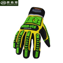 Load image into Gallery viewer, Seibertron 2017 New High-Vis Gloves Touch Screen Non-slip Anti-impact Humanized Design Finger Protection Outdoor Camp Gloves - thegsnd