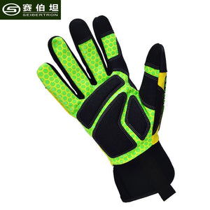 Seibertron 2017 New High-Vis Gloves Touch Screen Non-slip Anti-impact Humanized Design Finger Protection Outdoor Camp Gloves - thegsnd