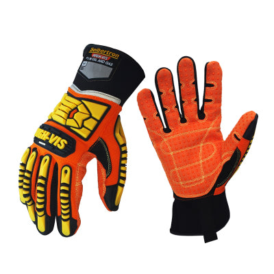 Seibertron High-Vis Resistant Reducing Anti-Impact Mechanics Heavy Duty Safety GlovesSport Motorcycle Gloves S M L XL 2XL - thegsnd