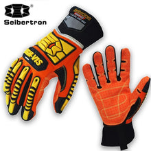 Load image into Gallery viewer, Seibertron High-Vis Resistant Reducing Anti-Impact Mechanics Heavy Duty Safety GlovesSport Motorcycle Gloves S M L XL 2XL - thegsnd