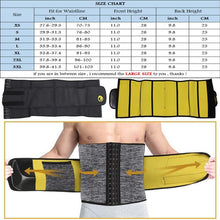 Load image into Gallery viewer, Sexywg Men Waist Trainer Support Neoprene Sauna Suit Modeling Body Shaper Belt Weight Loss Cincher Slim Faja Gym Workout Corset - thegsnd