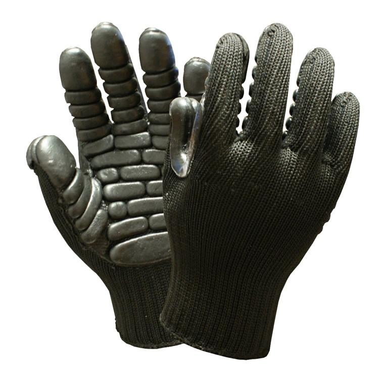 Shock Absorbing Gloves For Percussion Drill Anti Vibration Safety Glove Impact Drill Protect The Joints Resistant Work Gloves - thegsnd