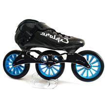 Load image into Gallery viewer, Speed Inline Skates Carbon Fiber Competition Roller Skate 3*125mm Wheels Street Racing Train Skating Patines for Kids Adult SH56-Gaming Zone-thegsnd-thegsnd