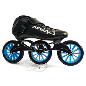 Speed Inline Skates Carbon Fiber Competition Roller Skate 3*125mm Wheels Street Racing Train Skating Patines for Kids Adult SH56-Gaming Zone-thegsnd-thegsnd