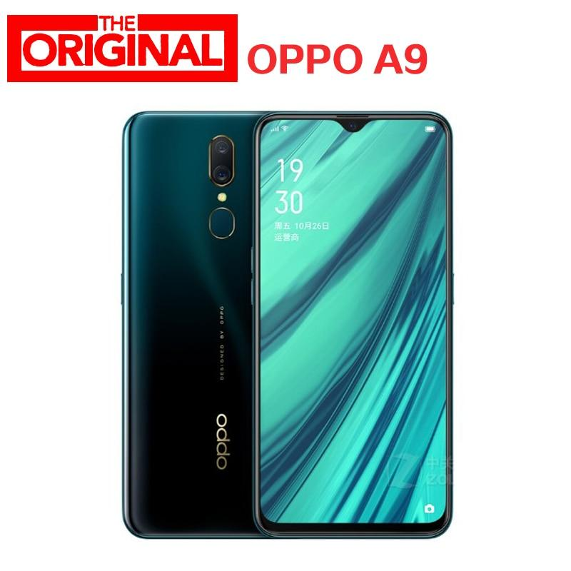 Stock New OPPO A9 Mobile Phone 4G Android 8.1 LTE MT6771V Octa Core 6.53