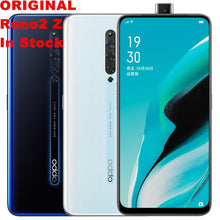 "Load image into Gallery viewer, Stock New Oppo Reno 2 Z 4G LTE Cellular Mobile Phone 6.5"" 2340X1080 8G RAM128G ROM 48.0MP VOOC 3.0 Fingerprint Android  Reno 2Z - thegsnd"