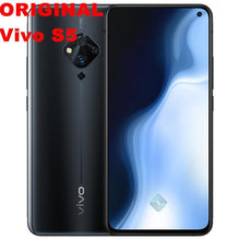 "Load image into Gallery viewer, Stock New Vivo S5 Smart Phone Android 9.0 4G LTE Snapdragon 712 6.44"" Super Amoled 8GB RAM 128GB ROM 48.0MP Fingerprint Face ID - thegsnd"