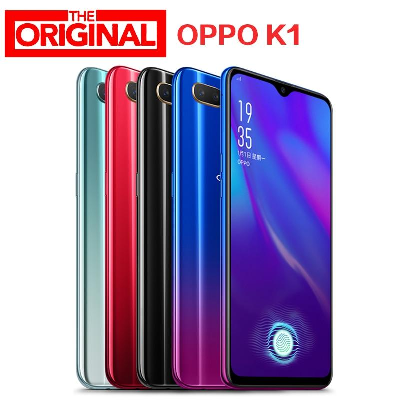Stock Oppo K1 LTE 4G Mobile Phone Snapdragon660 Android  6.4