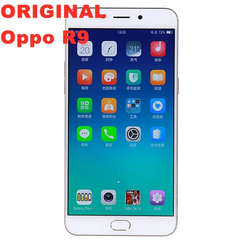 Stock Original Oppo R9 4G LTE Smart Phone MTK6755 Octa Core Android 5.1 5.5