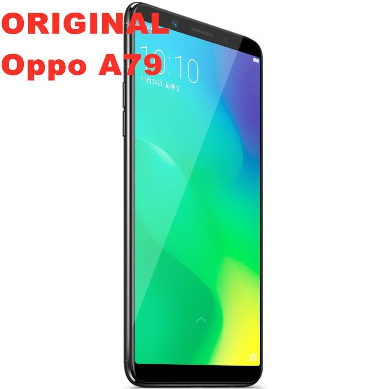 Stock new original Oppo A79 4G LTE Android Smart Phone MTK6763T 4GB RAM 64G ROM Octa Core 6.0