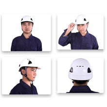 Load image into Gallery viewer, Strong ABS Bump Cap Site Construction Safety Work Crash Helmets Head Protection Outdoor Security Anti-Collision Hard Hat Safe - thegsnd