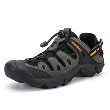 Load image into Gallery viewer, Summer Men Outdoor Sneakers Breathable Hiking Shoes Men Women Outdoor Hiking Sandals Men Trekking Trail Water Sandals Big Size - thegsnd