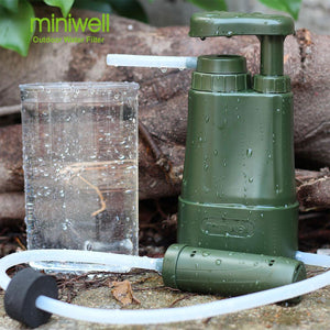 Survival Kit Type Military Water Filter - thegsnd