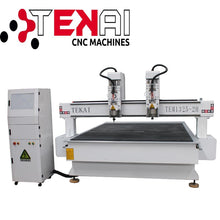 Load image into Gallery viewer, TEKAI 3.0kw water cooling spindle woodworking machine wood processing machine electric wood milling machine-Wood Processing Machine-thegsnd-Blue-thegsnd