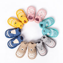 Load image into Gallery viewer, TELOTUNY baby shoes Cartoon Newborn Girls Boys Anti-Slip Socks First Walkers soft bottom non-slip cotton toddler shoes Z0828 - thegsnd