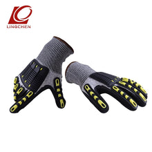 Load image into Gallery viewer, TPR Full Finger Cut Resistant Safety Gloves Riding Cycling Gloves Protective Hands from Knife (one pair) - thegsnd