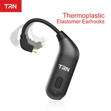 Load image into Gallery viewer, TRN BT20S Bluetooth V5.0 Ear Hook Connector Earphone Bluetooth Adapter MMCX/2Pin For SE535 UE900 TRN V80/X6 - thegsnd