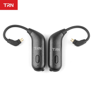 TRN BT20S Bluetooth V5.0 Ear Hook Connector Earphone Bluetooth Adapter MMCX/2Pin For SE535 UE900 TRN V80/X6 - thegsnd