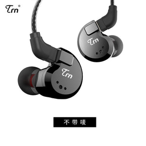 TRN V80 2DD+2BA Hybrid In Ear Earphone HIFI DJ Monitor Running Sport Earphone Earplug Headset With 2PIN Detachable TRN V20/V60 - thegsnd