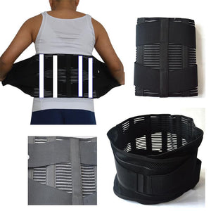 Unisex Lumbar Orthopedic Corset Herniated Disc Brace Fajas Ortopedicas Lower Back Support Corset On the Lumbar Spine Back Belt - thegsnd