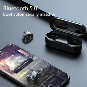 V11 TWS Ear buds Wireless Bluetooth earphone Noise Cancelling Earbuds Waterproof HiFi Stereo Earphones with Mic Charging Box - thegsnd