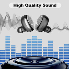 Load image into Gallery viewer, V11 TWS Ear buds Wireless Bluetooth earphone Noise Cancelling Earbuds Waterproof HiFi Stereo Earphones with Mic Charging Box - thegsnd