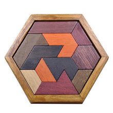 Load image into Gallery viewer, VKTECH Kids Wooden Puzzles Toys Jigsaw Board Geometric Shape Puzzle Game Montessori Educational Toys for Children Christmas Gift-Wooden Toy-thegsnd-thegsnd