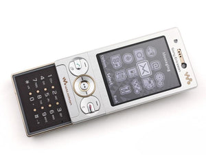 W715 100% Original Unlocked Sony Ericsson W715 Slide Mobile Phone 3G Bluetooth FM Unlocked Cell Phone - thegsnd