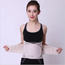 Load image into Gallery viewer, Waist Trimmer Belt Posture Corrector Bandage Corset Orthopedic Brace Back Belly Lumbar Support Belt for Men Woman Fitness Belt - thegsnd