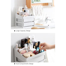 Load image into Gallery viewer, Women Large Capacity Multi-Drawers Cosmetics Storage Box Girl Jewelries Makeup Desktop Organizer - thegsnd