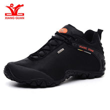 Load image into Gallery viewer, XIANG GUAN Outdoor Hiking shoes EUR size 39-48 man Breathable Anti-skid Windproof black travel Shoe Trend Sports Sneakers - thegsnd