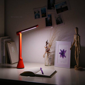 XIAOMI MIJIA LED Table Lamp YEELIGHT USB Folding Charging Small desk lamp study lamp table light Portable Bedside night light - thegsnd
