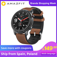 Xiaomi Amazfit GTR 47mm GPS Smart Watch 5ATM Waterproof Smartwatch 24 Days Battery Smart Watch Men for Android iOS - thegsnd